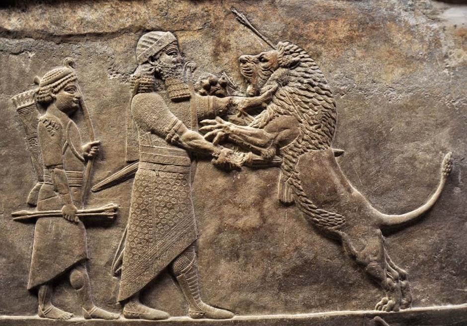 caccia-al-leone-assiri