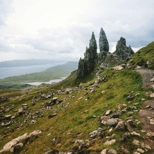 L'isola di Skye (con il celeberrimo Old Man of Storr).