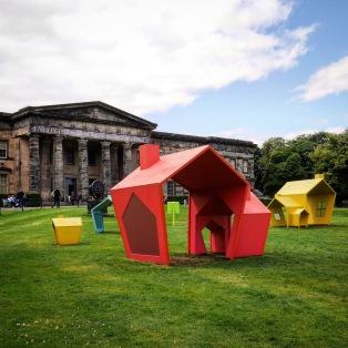 La Scottish Art Gallery a Edimburgo.