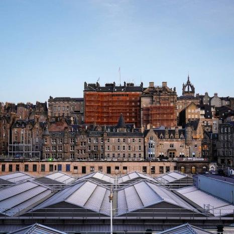 La città di Edimburgo.