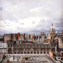 I tetti di Glasgow.