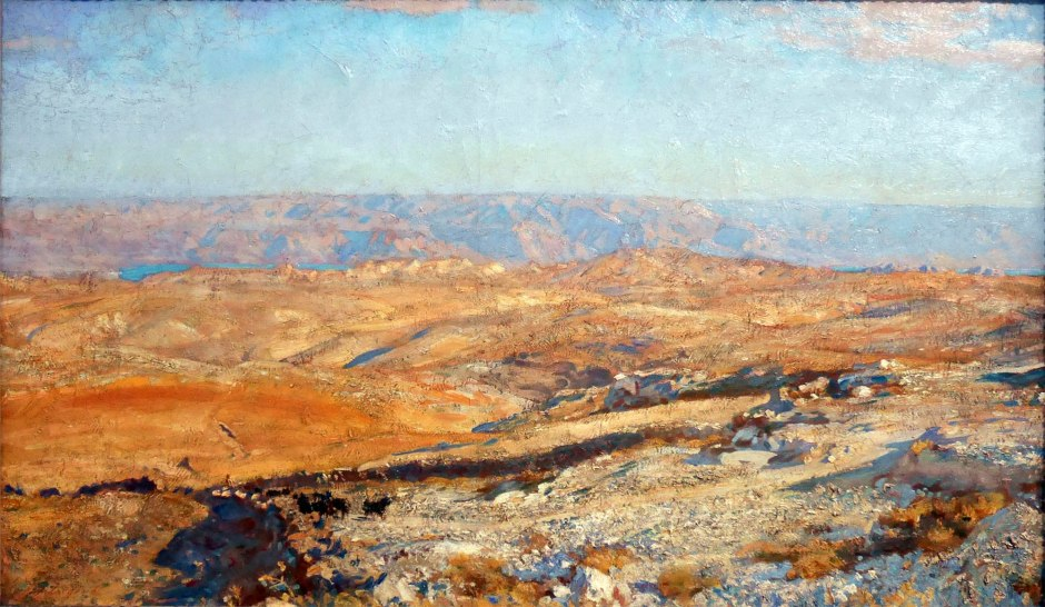 John-Singer-Sargent_the-mountains-of-moab