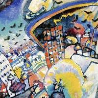 La Piazza Rossa di Vassily Kandinsky: il paesaggio che diventa astratto