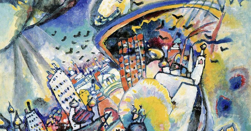La Piazza Rossa di Vassily Kandinsky: il paesaggio che diventa astratto – La sottile linea d'ombra