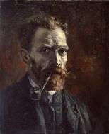 Vincent_Van_Gogh-Autoritratto_con_pipa