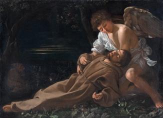 San Francesco in estasi