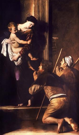 caravaggio-madonna-pellegrini
