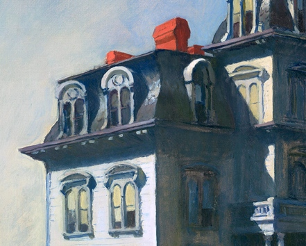 House by the Railroad, by Edward Hopper