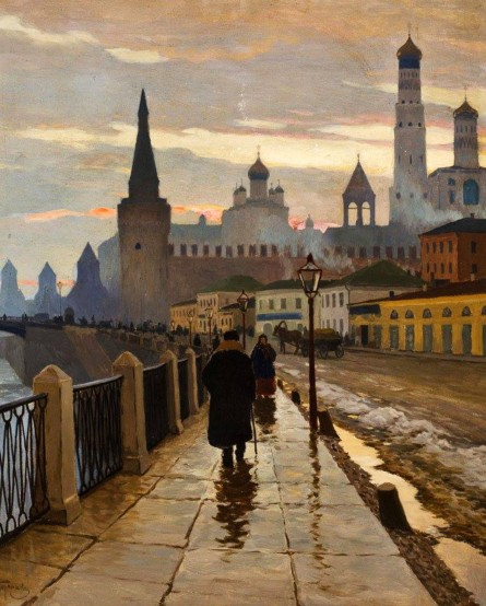 michael_germashev-a_view_of_the Kremlin_from_the _Moscow_river_embankment