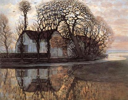 Piet Mondrian, arm near duivendrecht