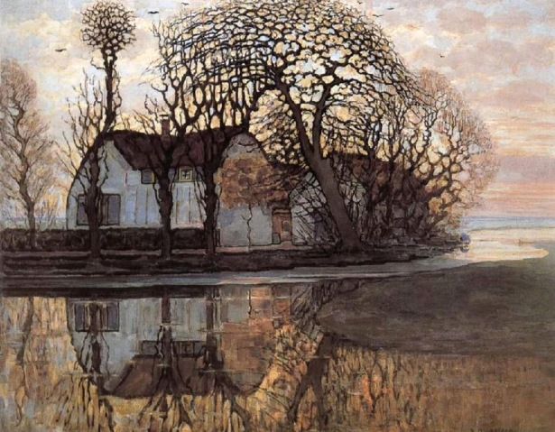 Piet Mondrian, arm near duivendrecht