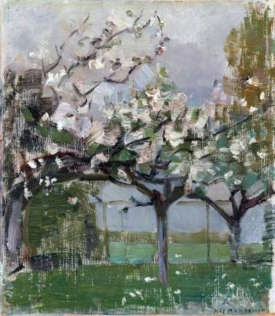 Piet Mondrian, Flowering trees