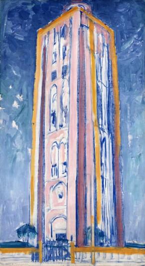 Piet Mondrian, Lighthouse at Westkapelle (1910) 2
