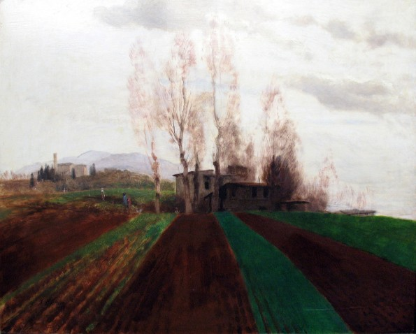 Arnold Böcklin, Inizio di primavera ad Acker, 1882.