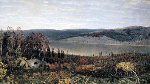 Apollinary Vasnetsov, Fiume Kama, 1895.