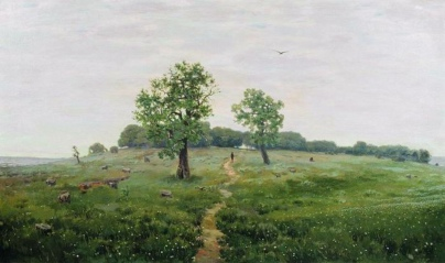 Apollinary Vasnetsov, Giornata grigia, 1883.