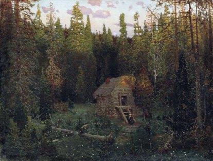 Apollinary Vasnetsov, L'abitazione di un eremita