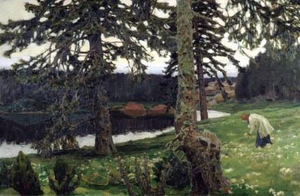 Apollinary Vasnetsov, Lago, 1902.