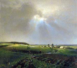 Apollinary Vasnetsov, Dopo la pioggia, 1887.