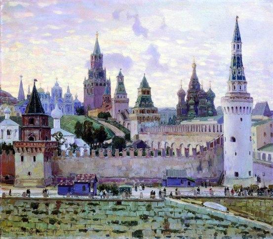 Apollinary Vasnetsov, Il Cremlino di Mosca, 1897.