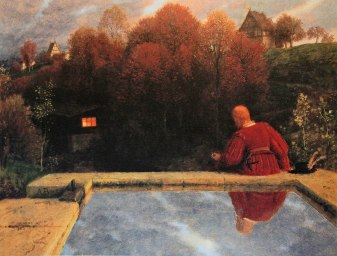 Arnold Böcklin, Il ritorno a casa, 1887.