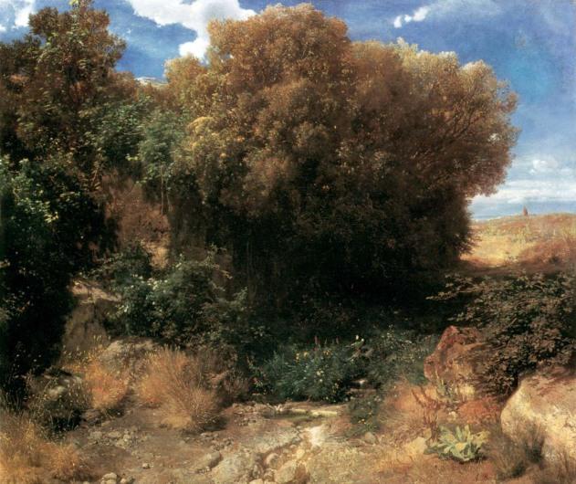 Arnold Böcklin, Campagna, 1857-58.