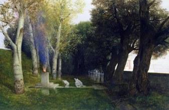 Arnold Böcklin, Il bosco sacro, 188