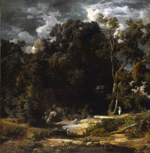 Arnold Böcklin, Paesaggio romano, 1852.