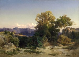 Arnold Böcklin, Tra le montagne albanesi, 1851.