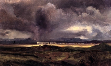 Arnold Böcklin, La tempesta