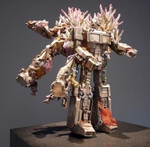 Huehueteotl and Olmec Dragon (Transformers).