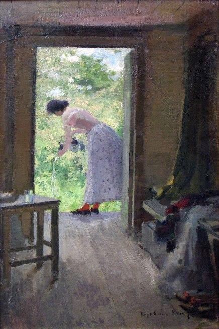 Konstantin Korovin,In campagna, 1895.