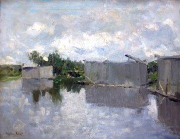 Konstantin Korovin, Stabilimento balneare, 1900.