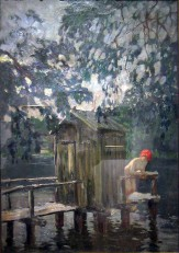 Konstantin Korovin,Allo stabilimento balneare, 1890.