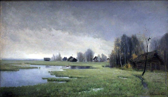 Konstantin Korovin, Autunno, 1880.