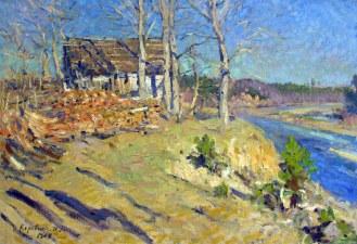 Konstantin Korovin, Paesaggio autunnale, 1909.