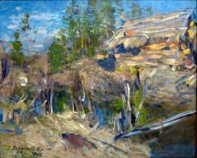Konstantin Korovin, Ruscello, 1913.