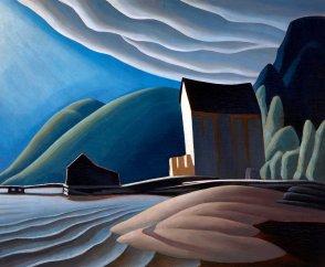 Lawren Harris, Ice House, Caldwell, Lake Superior.