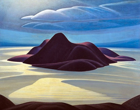 Lawren Harris, Peak Island.