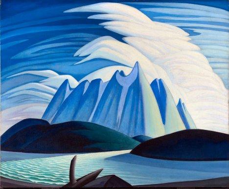 Lawren Harris, Lake and Mountains.