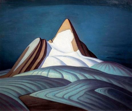 Lawren Harris, Mont Thule, Isloation Peak, Rocky mountains..