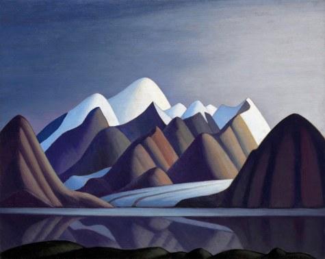 Lawren Harris, Mont Thule, Bylot Island.