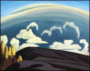 Lawren Harris, Aftermath of storm, Lake Superior.