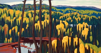 Lawren Harris, Algoma Country