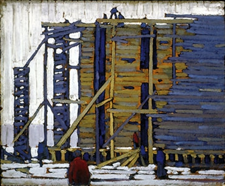 Lawren Harris, Building .