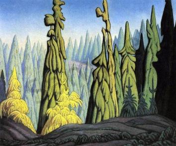 Lawren Harris, Trees in the north.