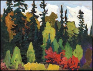Lawren Harris, Woods, Algoma.