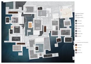 Pavimentazioni collezione permanente - Louvre di Abu Dhabi, © Atelier Jean Nouvel. Reperita su: https://www.archdaily.com/883157/louvre-abu-dhabi-atelier-jean-nouvel