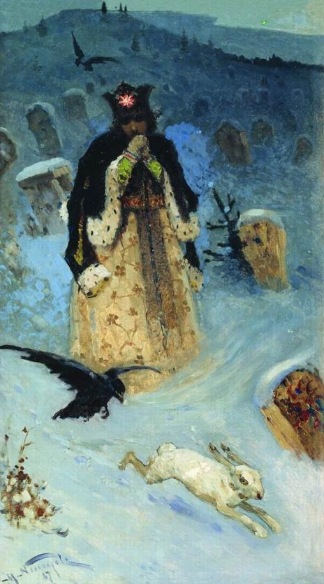 Michail Nesterov, La principessa, 1887.