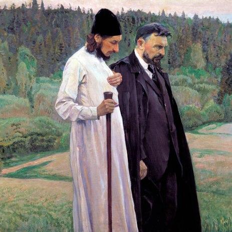Michail Nesterov, I filosofi, 1917.